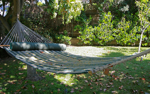Hammock awaiting visitors | by Living in Monrovia