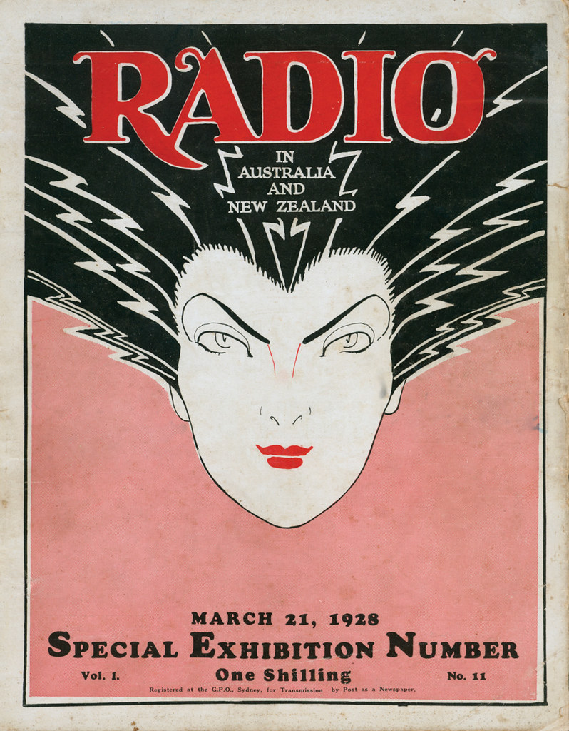 It's electrifying!!! | Radio cover for trade magazine in Aus… | Flickr