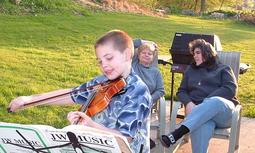 Lincoln Van Pelt Classical Violin Eva Cooper