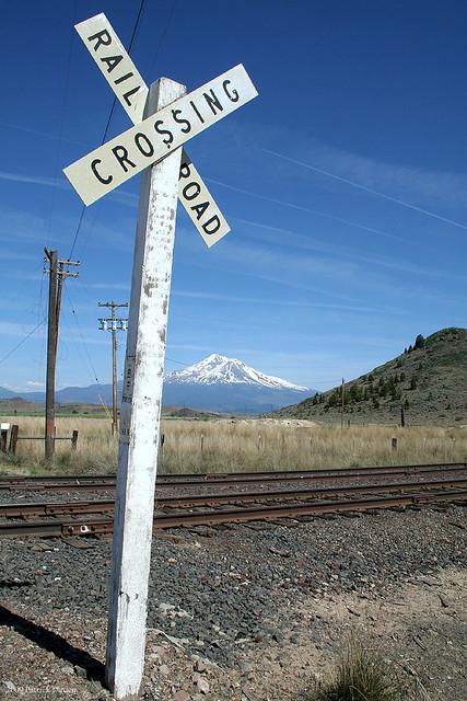 Rails below Shasta
