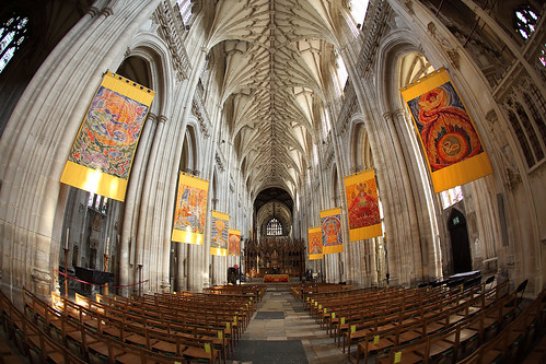 Winchester Cathedral fisheye | by dmmaus