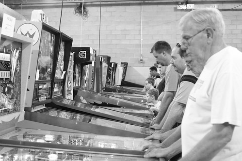 Pinball Players | by Florence Ivy