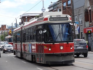 Toronto Transit Commission 4219 on 505 Dundas | by Orion V