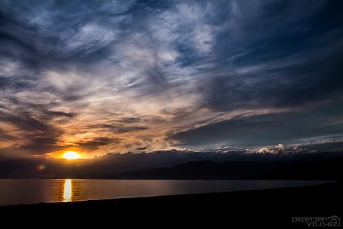 españa sol canon atardecer mar andalucía spain agua playa andalucia nubes 1750 montaña tamron puesta almeria almería elejido balerma 1100d