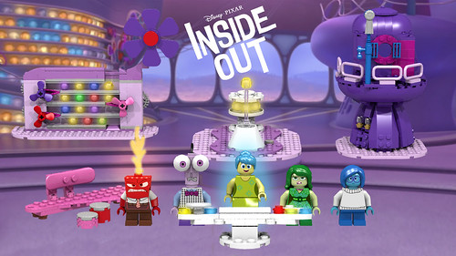 Lego Ideas: Inside Out Headquarters | by Oky - Space Ranger