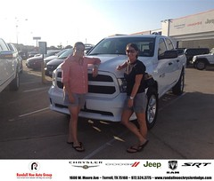 #HappyAnniversary to Kristie Coleman on your 2014 #Ram #1500 from Everyone at Randall Noe Chrysler Dodge Jeep RAM!