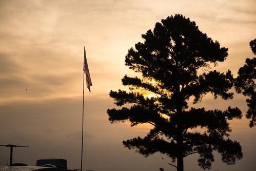 2015 d7100 lake livingston nikond7100 water boating lakelivingston texas flag sunrise morning sun camping nikon