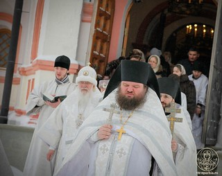 Литургия в Иверском монастыре 420
