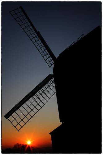 windmill brill brillwindmill sunset