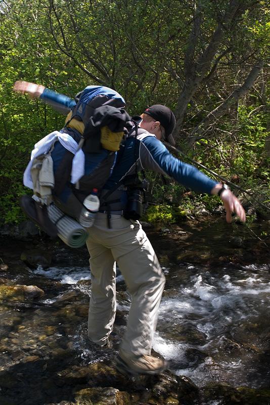 Creek Crossing by AlwaysJanuary (Randy)