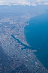 Tomakomai port view from the sky | by double-h