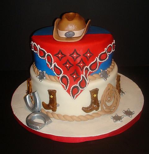Cowboy Birthday Cake | Miriam Santangelo | Flickr