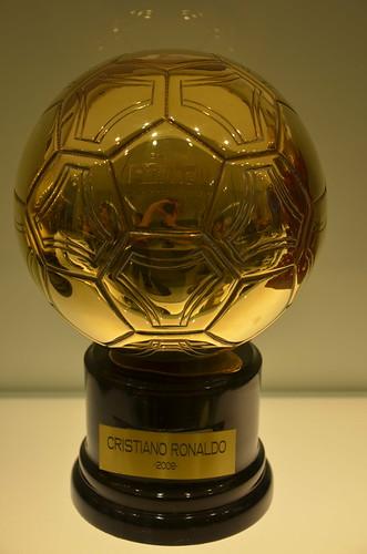 Cristiano Ronaldo's 2008 European Player Of The Year award - the Ballon d'Or | by Ben Sutherland