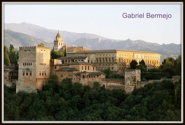 Atardecer en la Alhambra - Granada