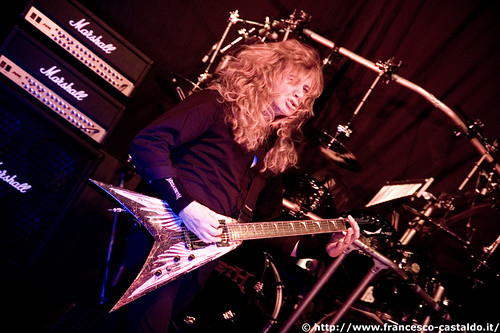 Dave Mustaine | by [devu]