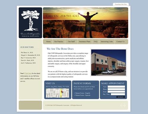 The Bonedocs Website Redesign