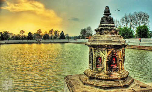 nepal evening hdr bhaktapur dreamsky saarc 3exp theunforgettablepictures shiddhapokhari siddhapokhari