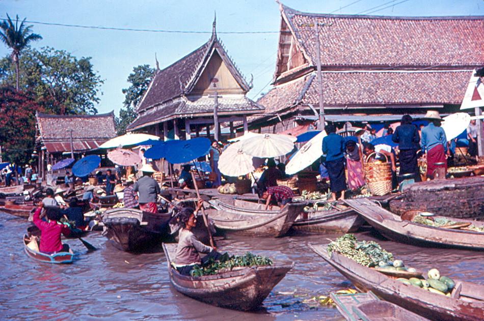 Bangkok - Floating Market | Floating Market on a canal (klon… | Flickr