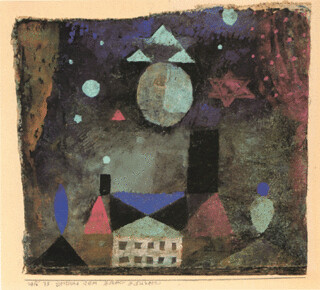 Stars Above An Evil House by Paul Klee-1916 | by mary holman