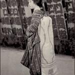 Maiko with shibori obi.