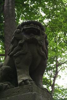 Another Park Cache (GC10FWF) - Shrine Guardian
