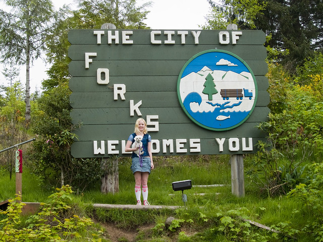 The City of Forks Welcomes You