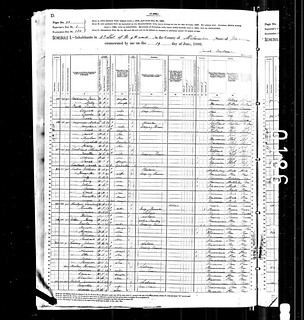 1880 Milwaukee census record | by yhoitink