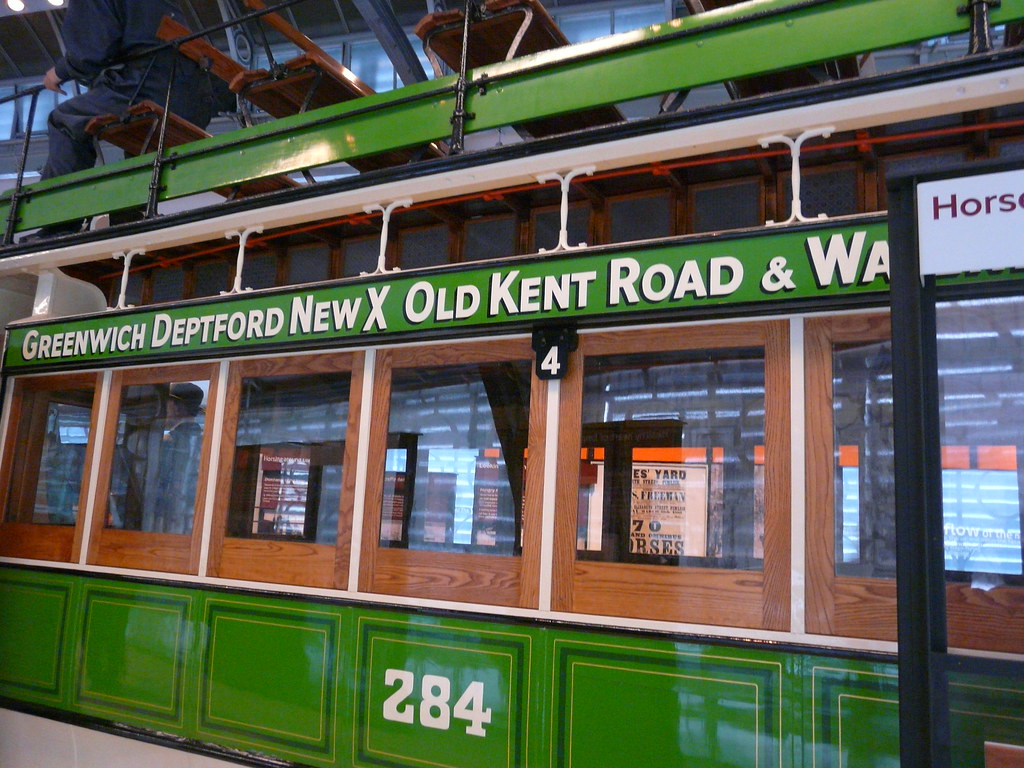 Stephenson Horse Tram, London Transport Museum