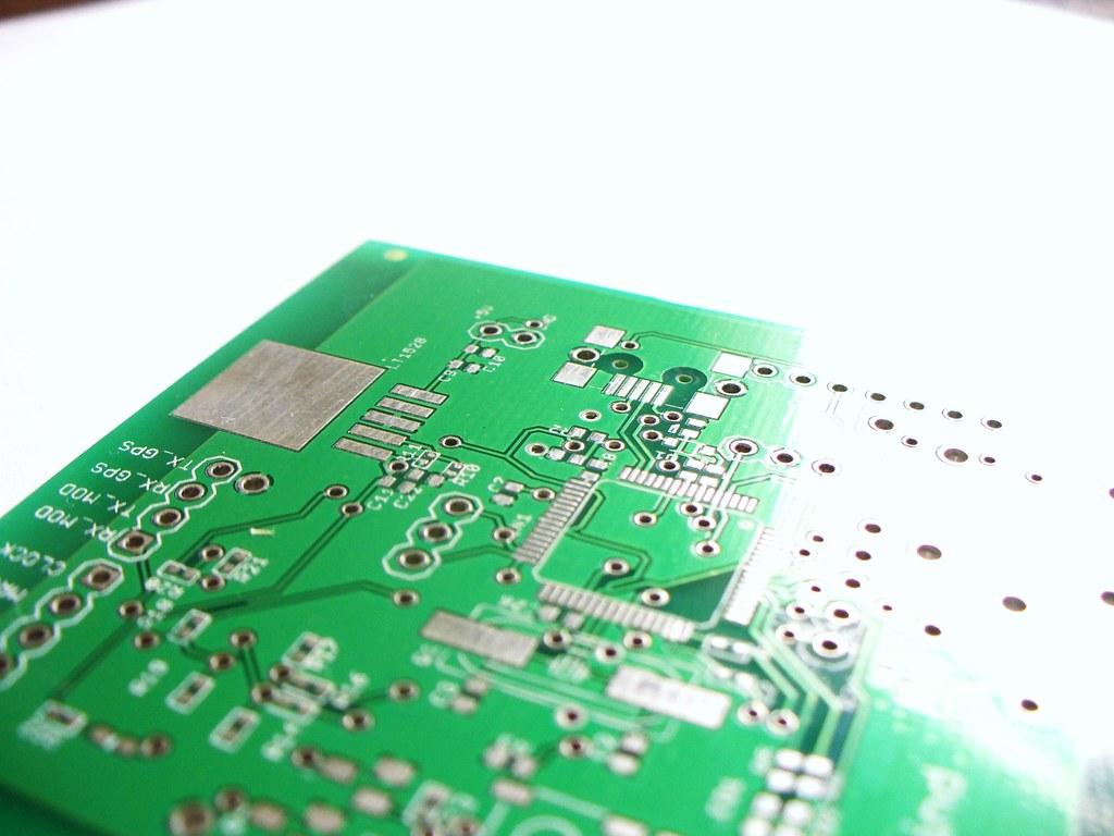 Placa De Circuito Impresso Detalhe De Uma Placa Prototipad Flickr