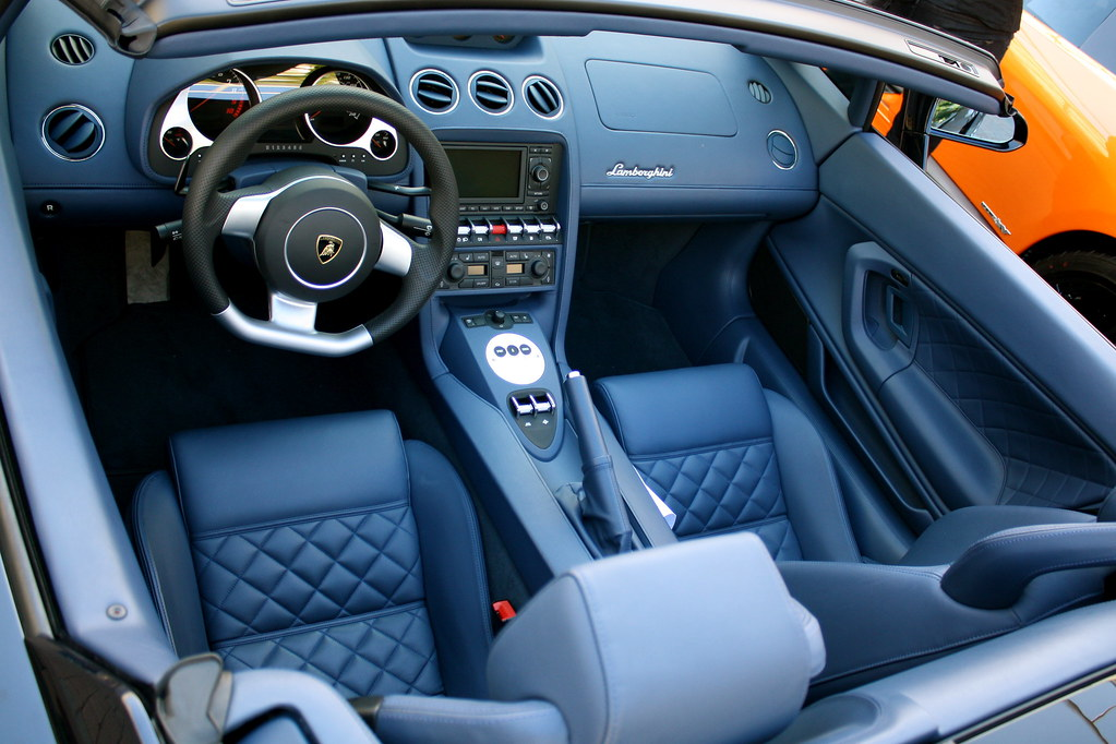 Lamborghini Gallardo Spyder Lp560 4 Interior Www Apexrally Flickr