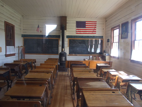 One-room schoolhouse | by jen-the-librarian