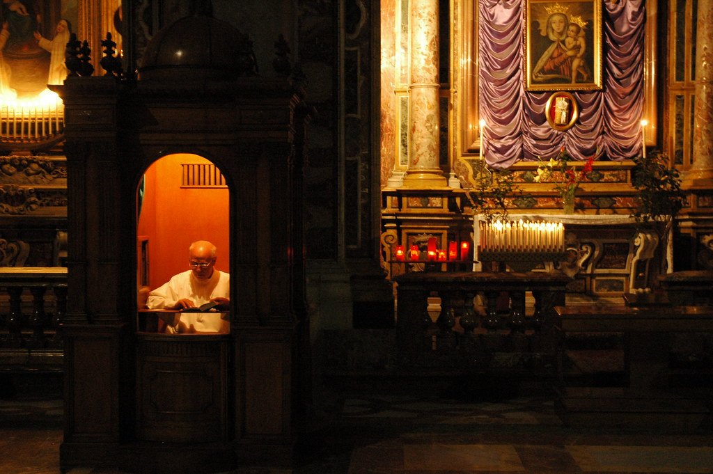 Image result for confessional