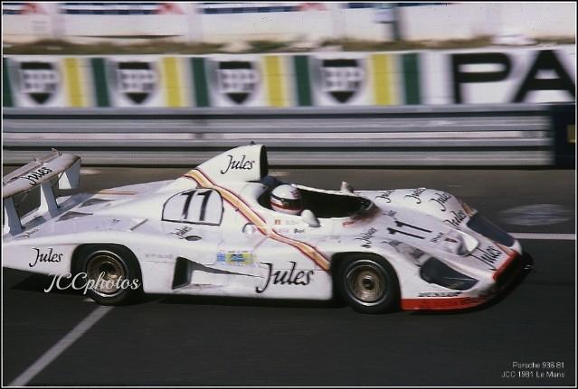 24 Heures du Mans 1981 Porsche 936 81 winner