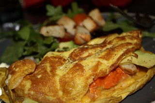Sweet Potato Omelette | by chefelf