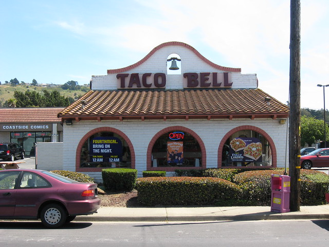 Taco Bell Pacifica,CA