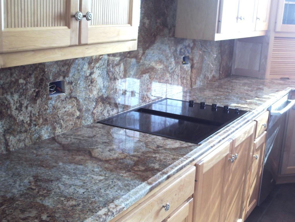- Geriba Countertop With Full Granite Backsplash Geriba With… Flickr