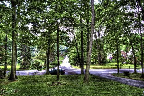 blue trees sunset sun car forest photoshop evening nikon nissan dusk tripod nikkor rims hdr highdynamicrange maxima bluecar cs4 nissanmaxima photomatix d40 tonemapped nissanmotors d40x nissanrims evad310 davedicello maximarims
