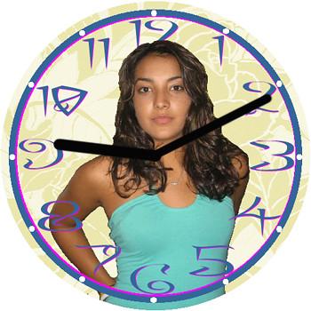 Dorothy Love Clock | by customclockface