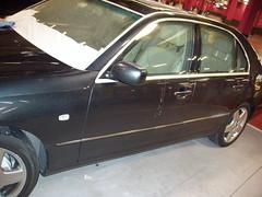 Pulido coche. Lexus LS