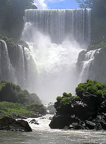 IGUAZU - The most beautiful water fall(S) I have ever seen.  There are 220 waterfalls.  they are shared by both Brazil and Argentina...