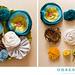 Fabric flowers, yay! by Amy Nieto
