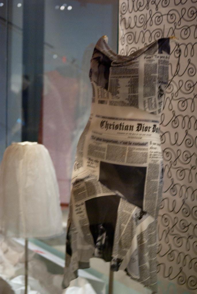 66cc0994 John Galliano/Christian Dior Newspaper Dress | CP Hoffman | Flickr