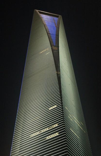 Shanghai - SWFC at Night
