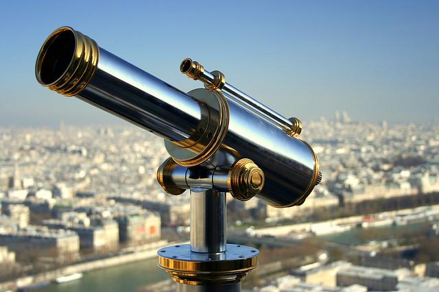 take a view over Paris
