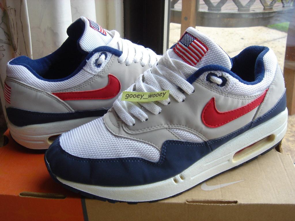 Nike Air Max 1 Original Mesh 'USA' ('03). | Think these may