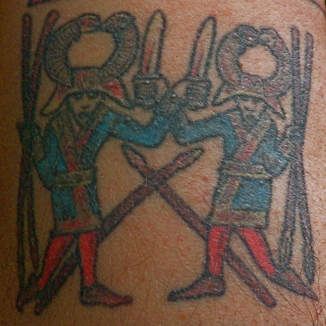 Heathen Tattoo, Spear Dancers