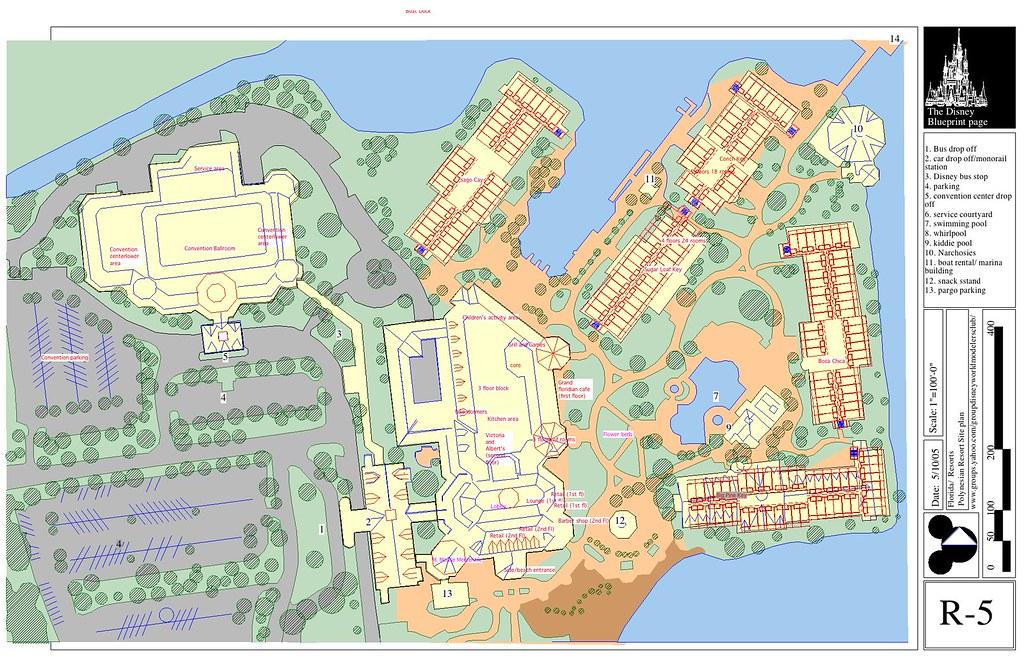 Grand Floridian site plan | Ed | Flickr