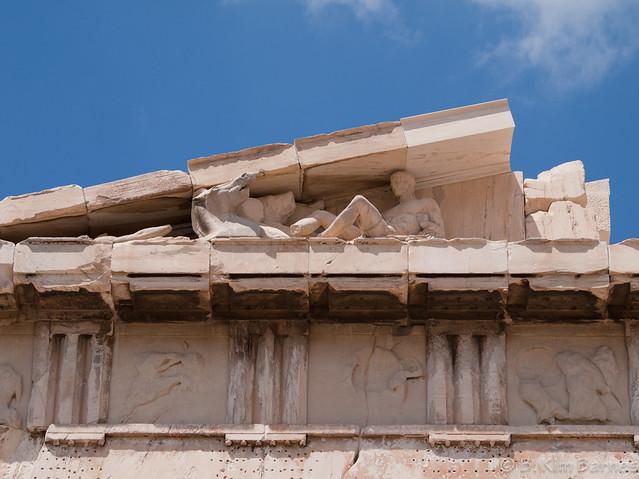 Acropolis, pediment