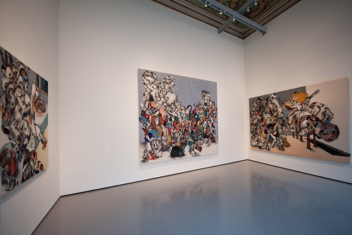 Ahmed Alsoudani @ The World Belongs to You / Palazzo Grassi | by happyfamousartists