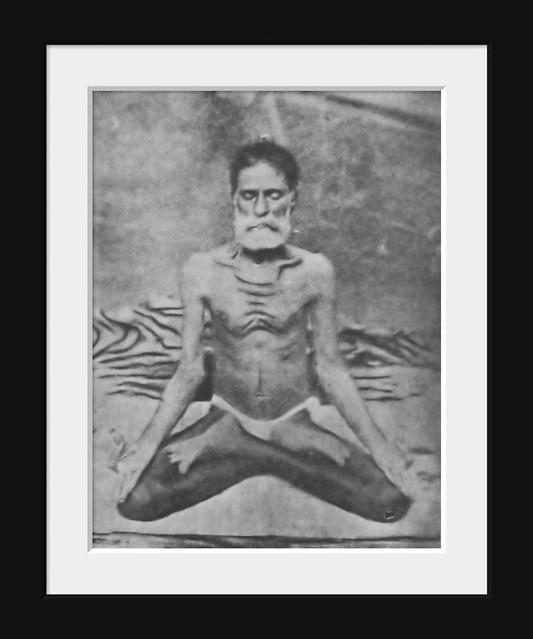 Paramahamsa Sacchidananda | This is a rare photo of Paramaha